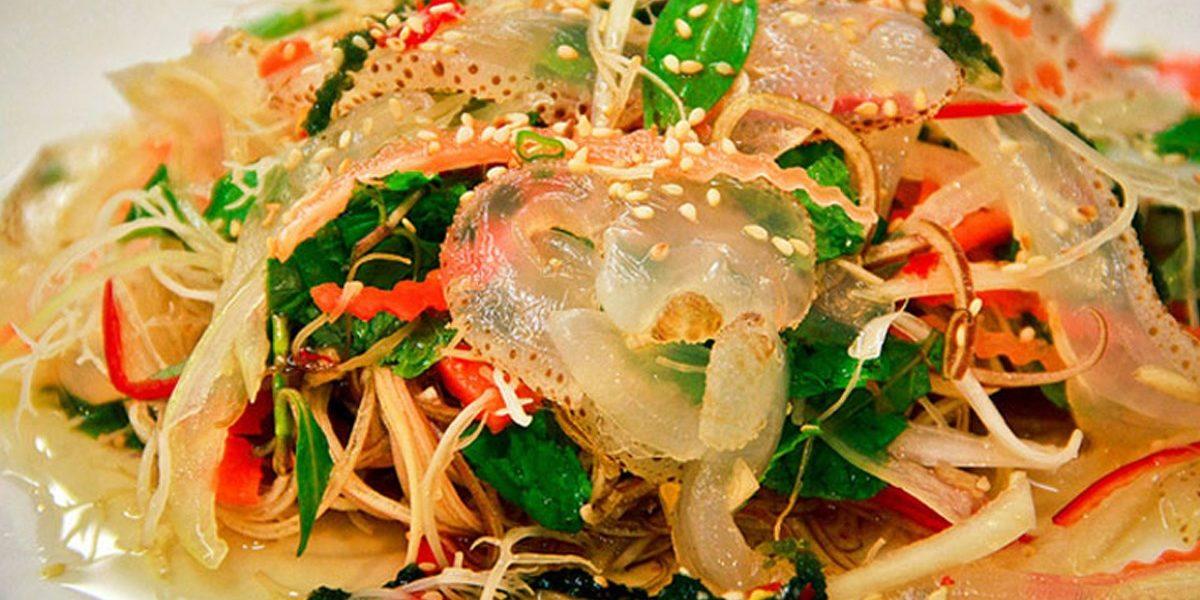cách làm nộm sứa thập cẩm