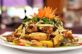 Cách nấu ếch xào sả ớt ngon đậm đà, đưa cơm ngày cuối tuần