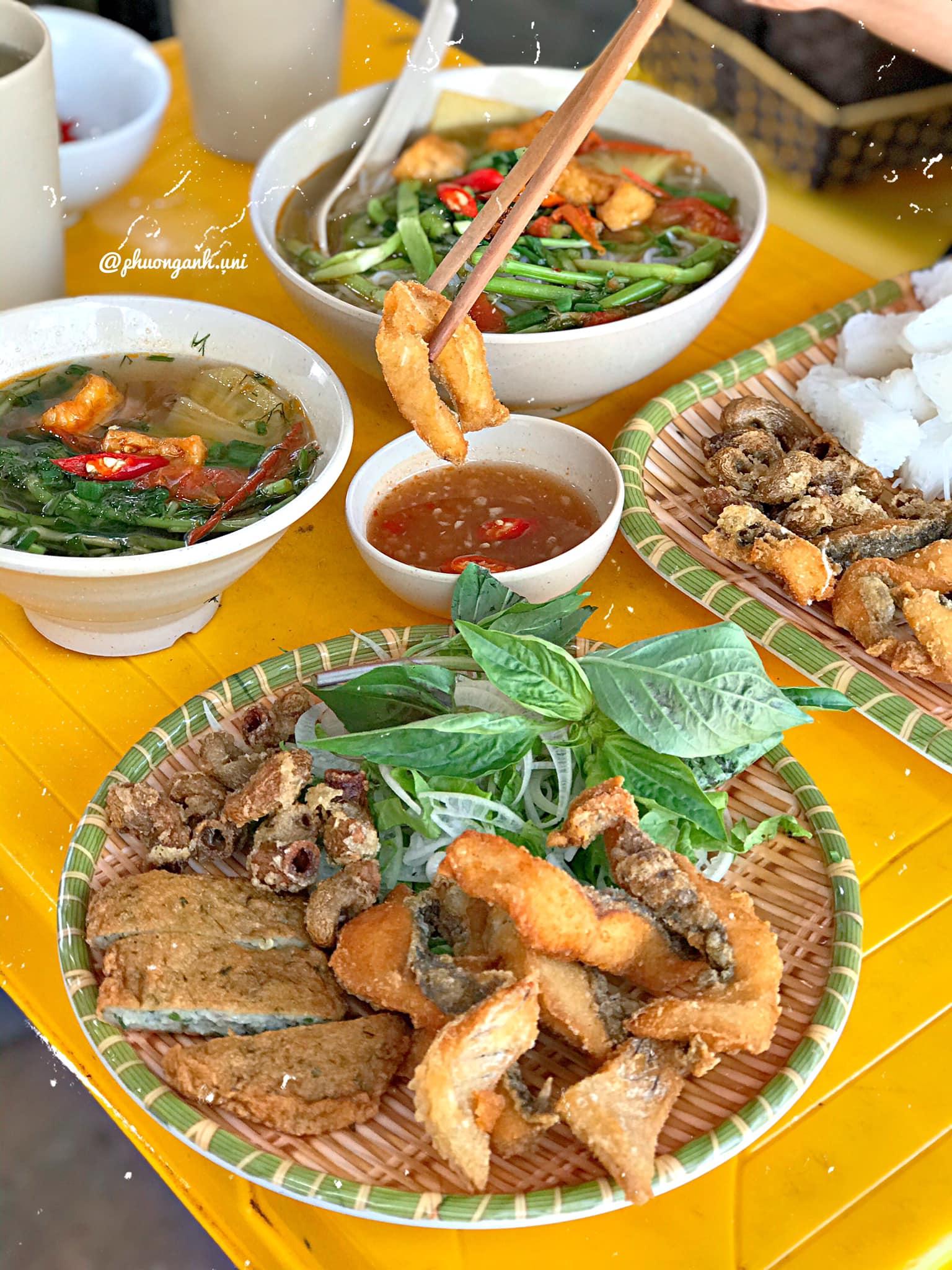 Bún cá chấm 391 Nguyễn Khang