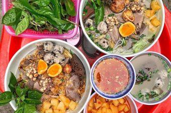 TOP 10 quán bún ngan ngon Hà Nội đông khách nườm nượp