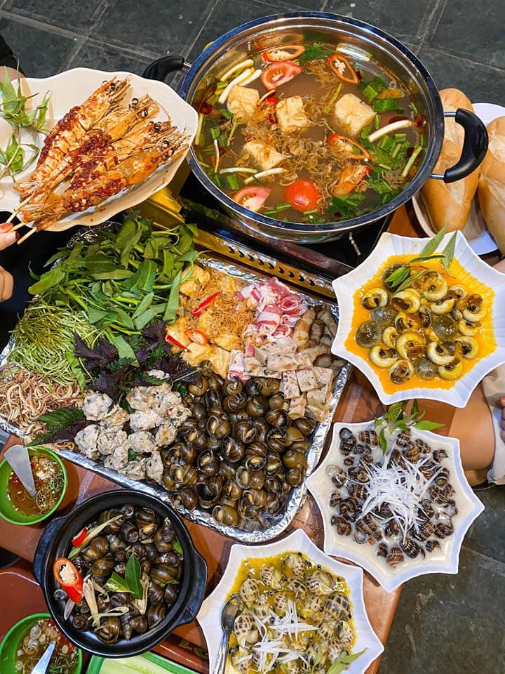 quán ốc Mai Khôi Sài Gòn