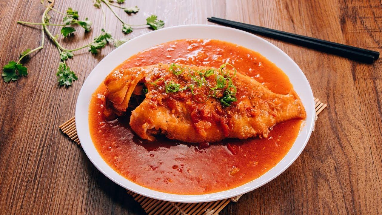 cá diêu hồng sốt cà chua