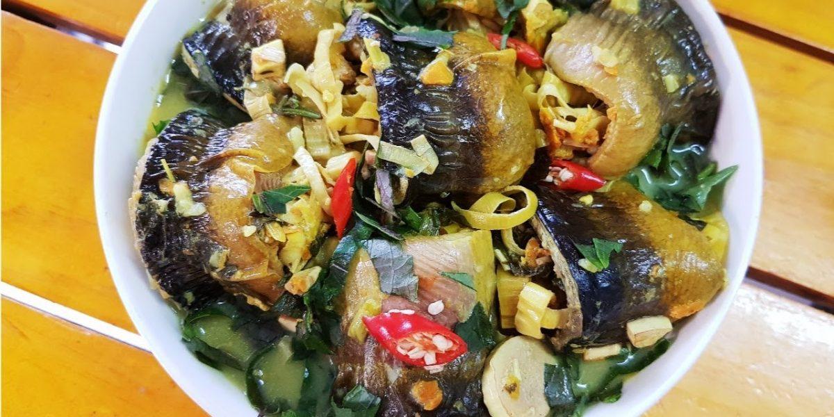 cách nấu lươn om chuối đậu