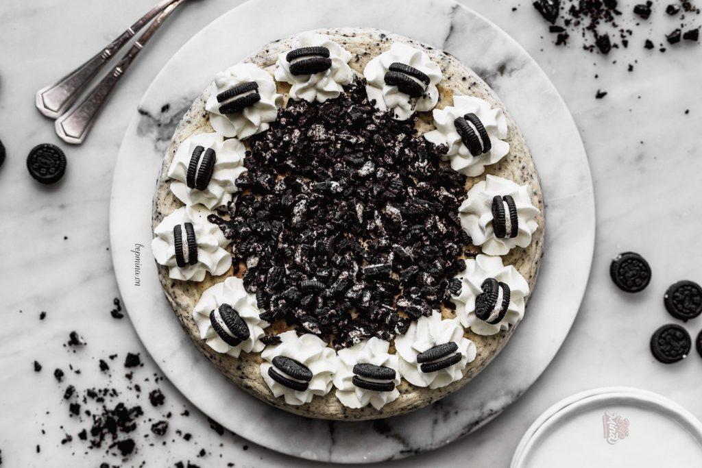 cách làm bánh cheesecake oreo