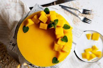Cách Làm Bánh Cheesecake Chanh Leo Và Xoài Ngon Bất bại