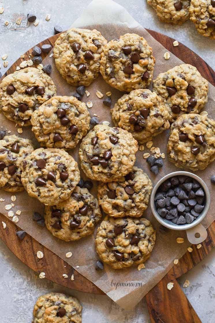 cách làm bánh quy yến mạch socola