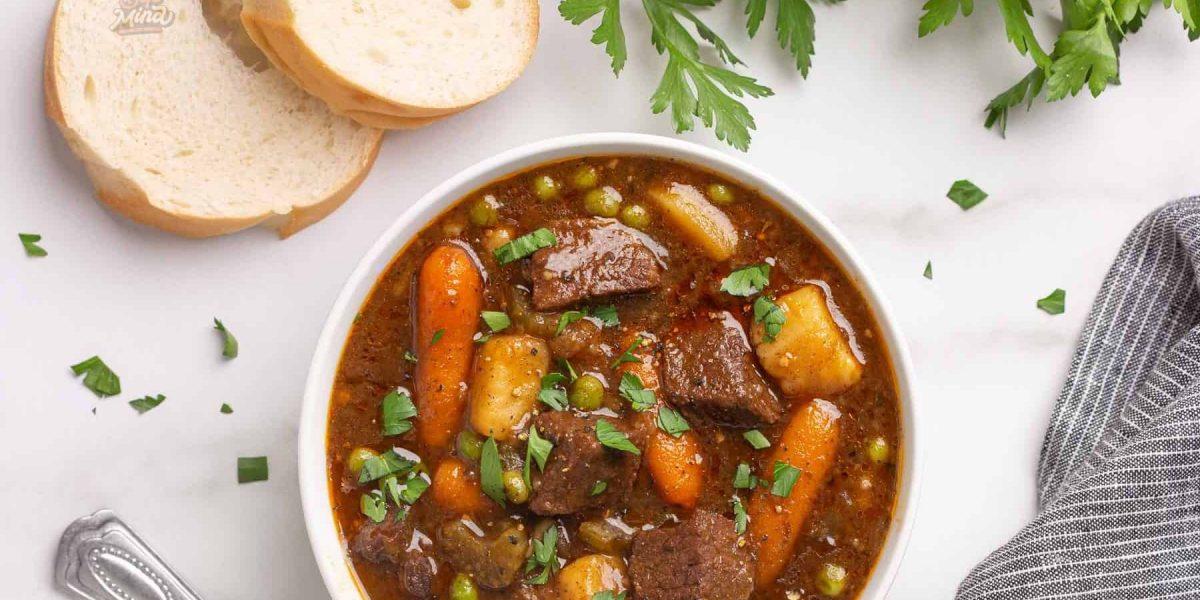 cách nấu thịt bò hầm khoai tây cà rốt