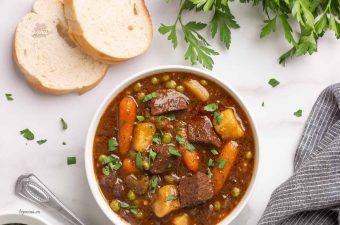 Cách làm thịt bò hầm khoai tây cà rốt Ngon đậm đà ai cũng khen