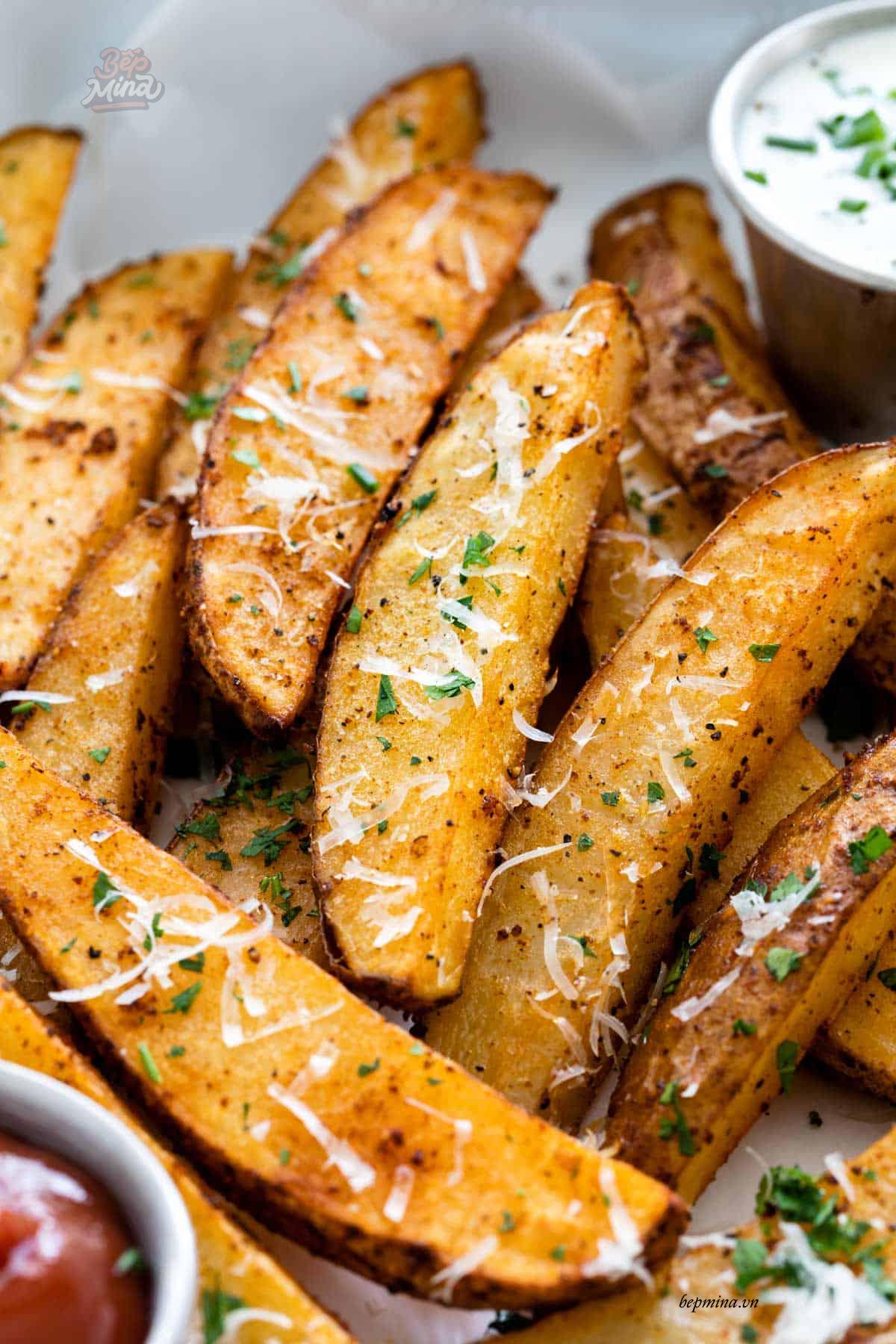 khoai tây chiên bằng lò nướng