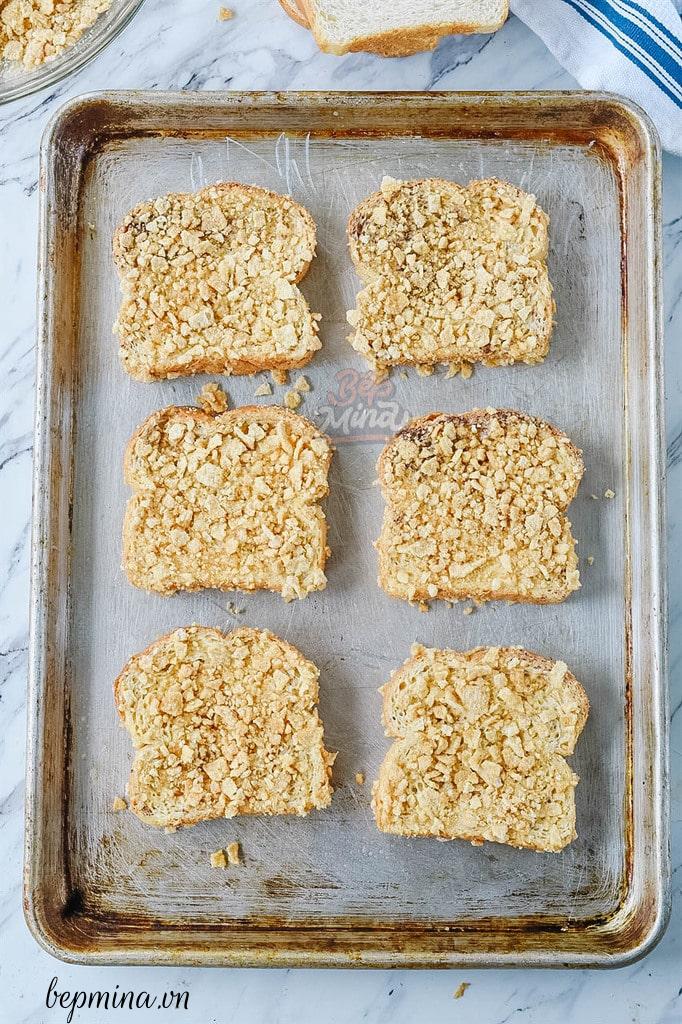 làm bánh toast kiểu Pháp