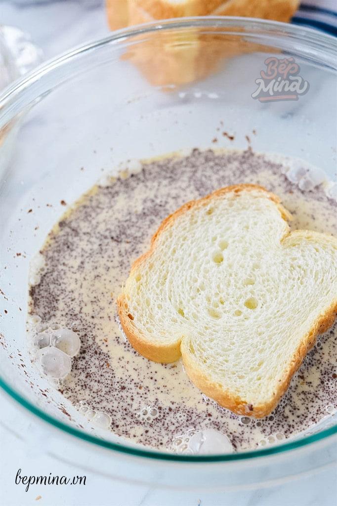 làm bánh toast Pháp