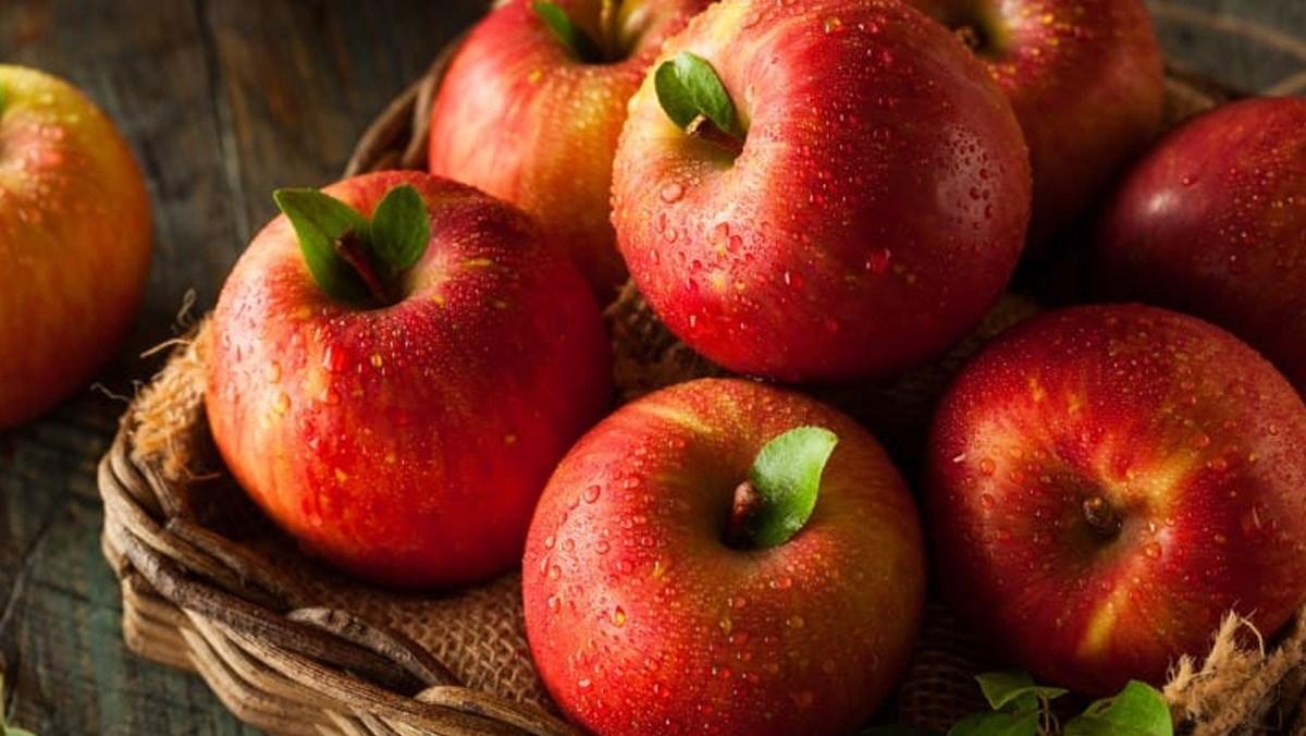 nguyên liệu làm snack táo nướng