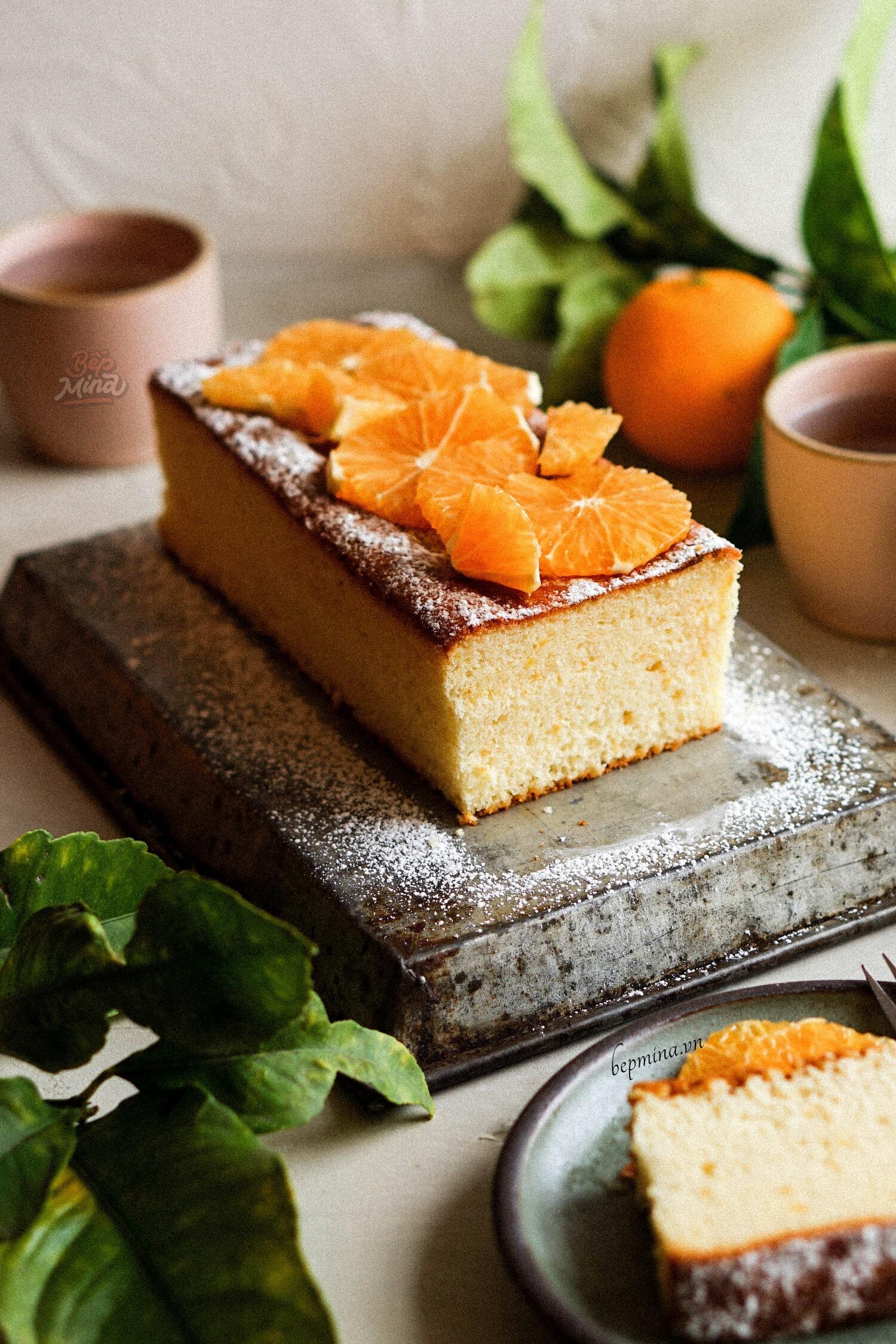 bánh bông lan cam