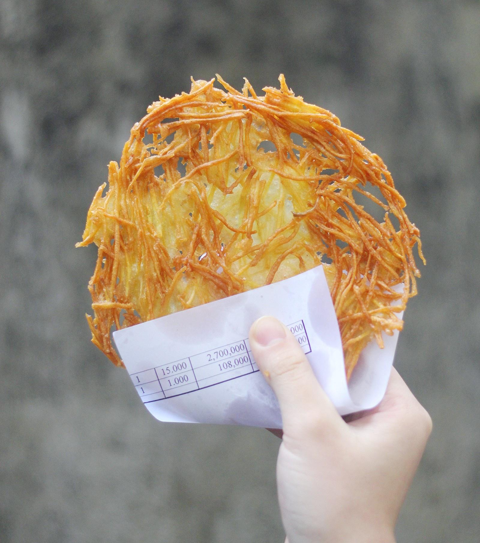 bánh khoai lang sợi