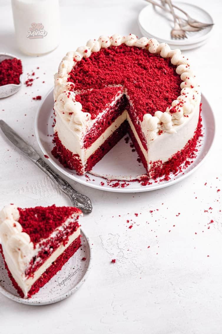 làm bánh red Velvet