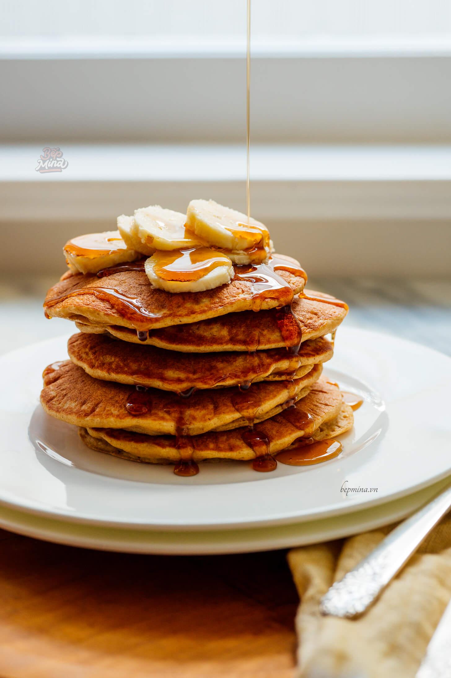 cách làm bánh pancake truyền thống