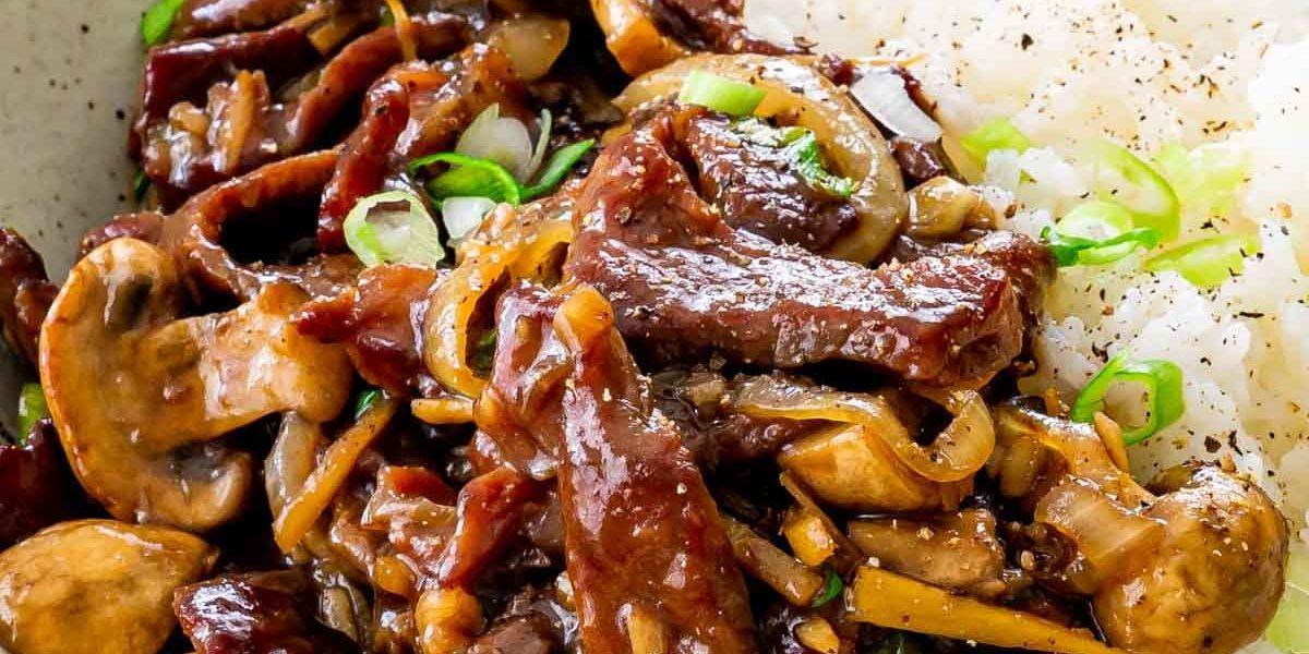 cách làm nấm xào thịt bò