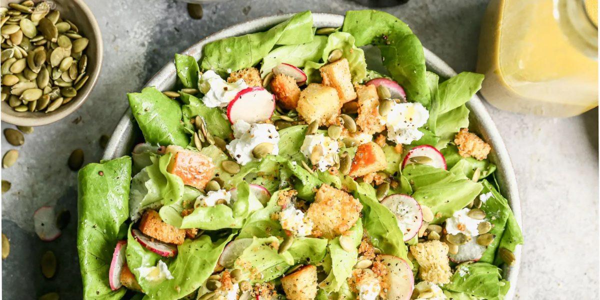 cách làm salad rau xà lách