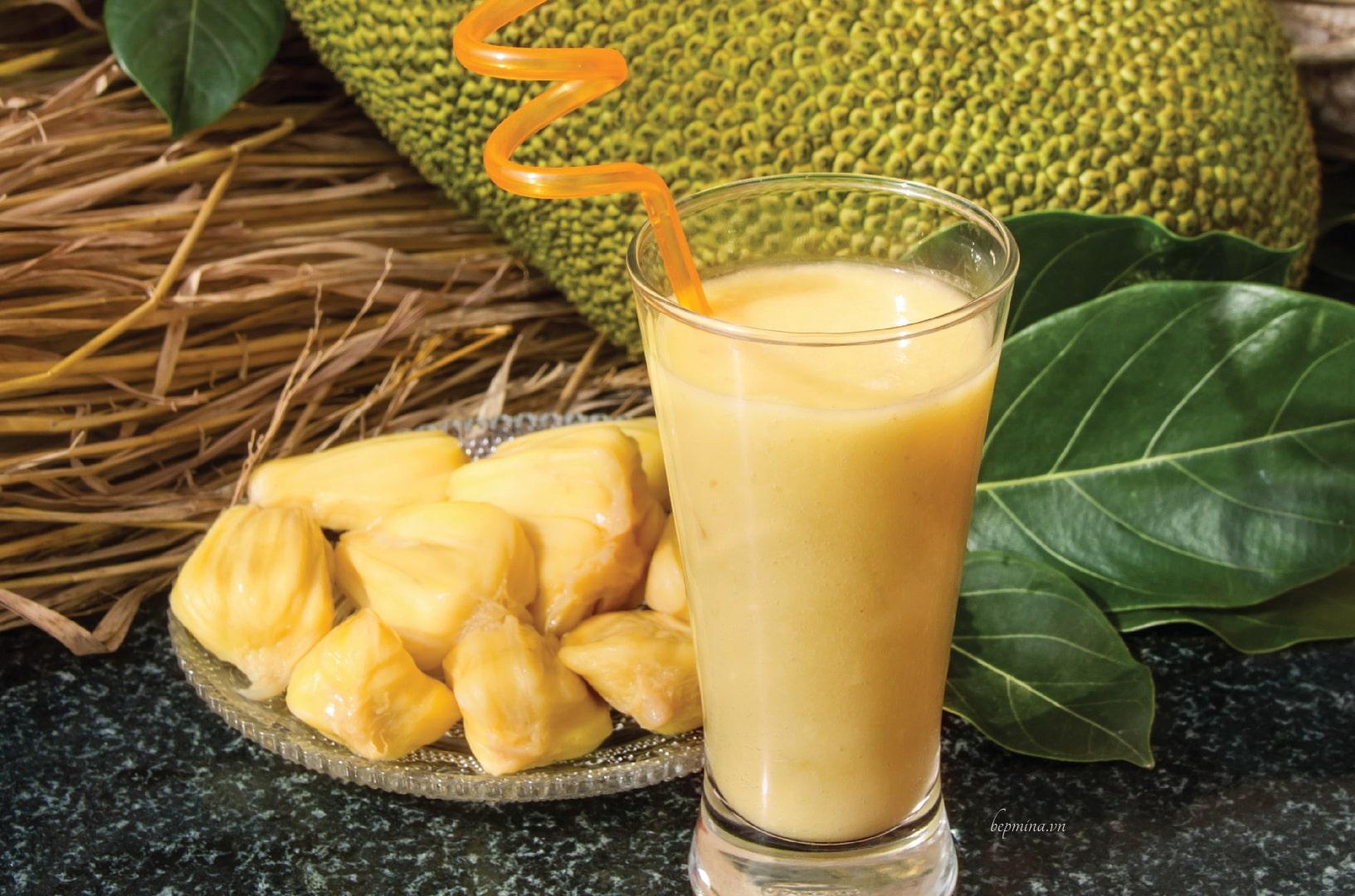 cách làm sinh tố mít sữa chua
