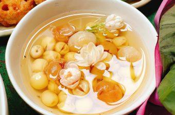 Cách nấu chè hạt sen long nhãn Thanh mát, Bở, Ko bị Đục nước