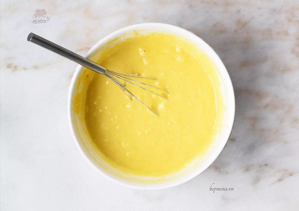 làm bánh bông lan cam