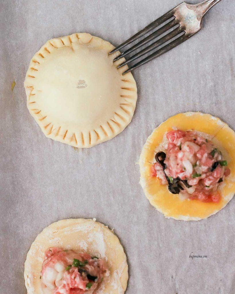 tạo hình bánh pateso