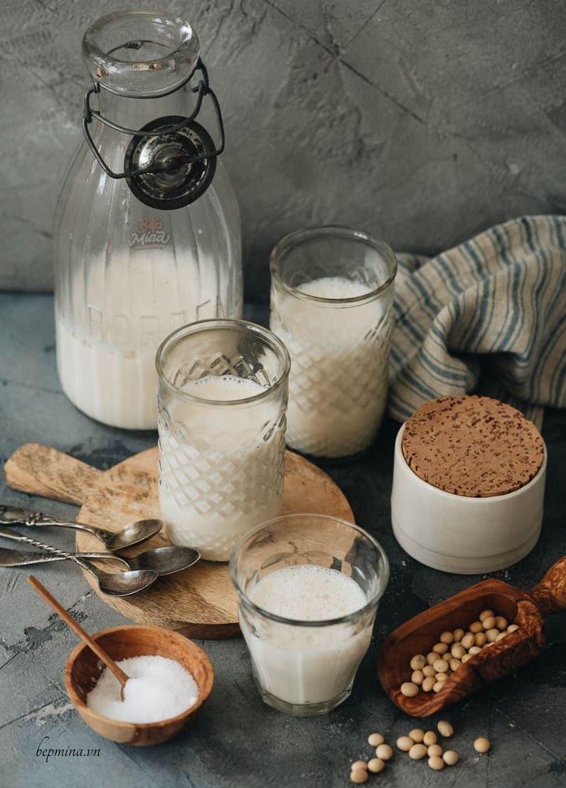tự làm sữa đậu nành tại nhà
