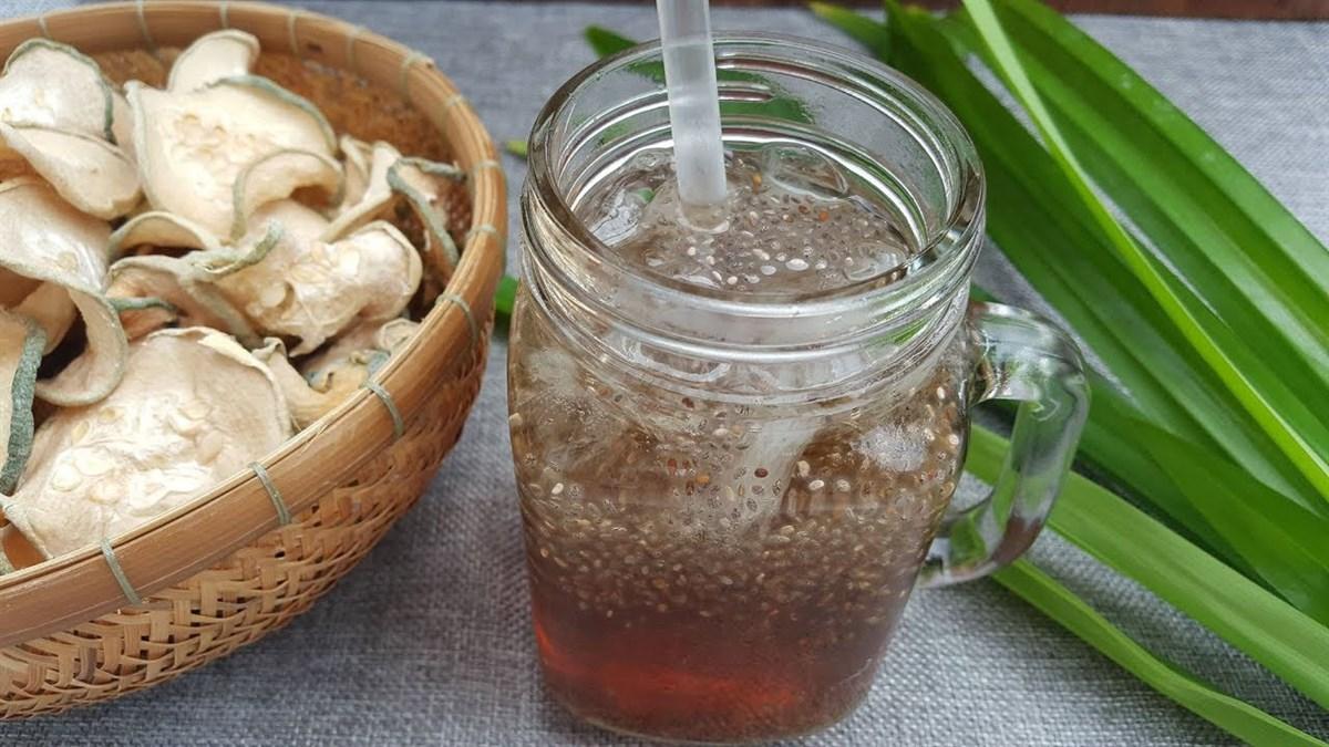 cách nấu trà bí đao hạt chia