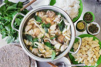 Nguyên liệu làm lẩu gà và Cách nấu lẩu gà Ngon Xuýt Xoa
