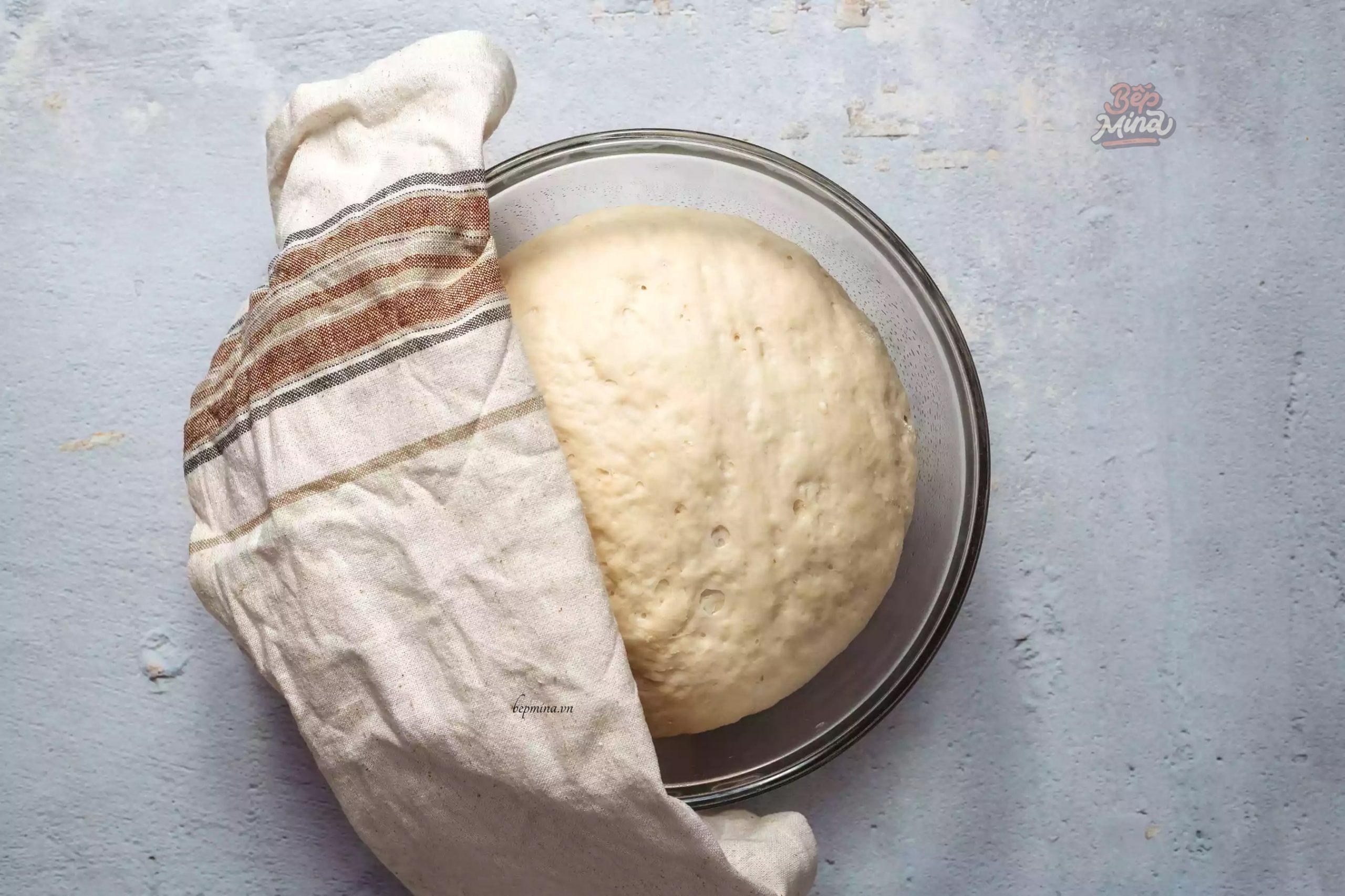 ủ bột bánh bao