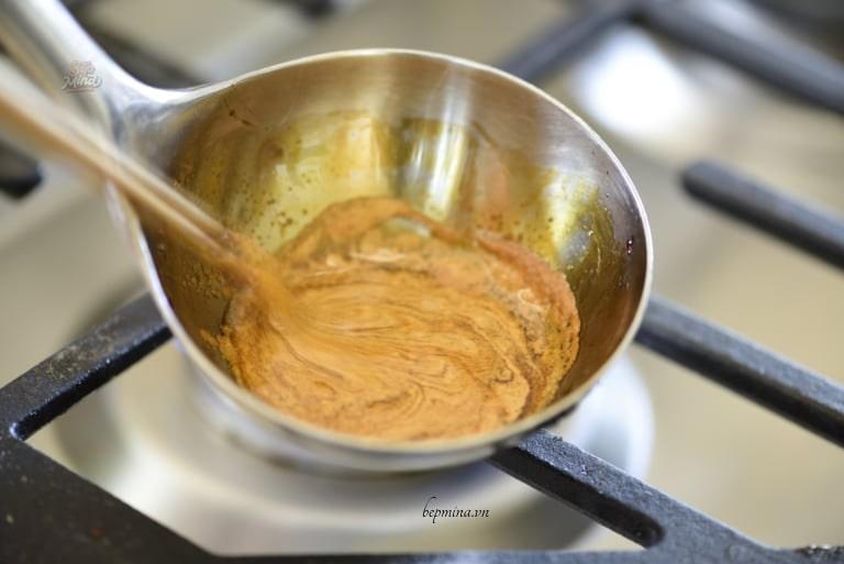 nấu kẹo đường dalgona